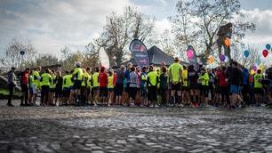 Run Rome The Marathon Get Ready, che festa l'allenamento a Ponte Milvio
