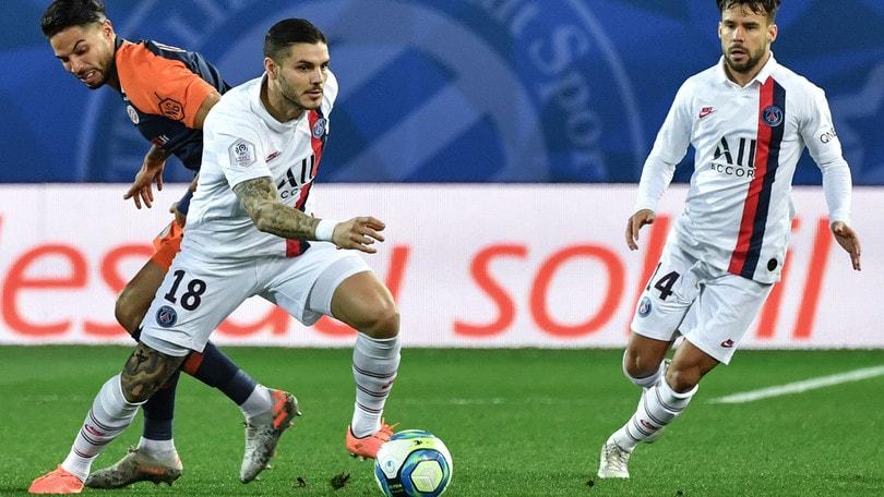 Ligue 1, il Psg supera il Montpellier. Icardi ancora a segno