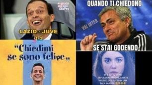 La Lazio stende la Juve 3-1 e sui social impazzano i post ironici