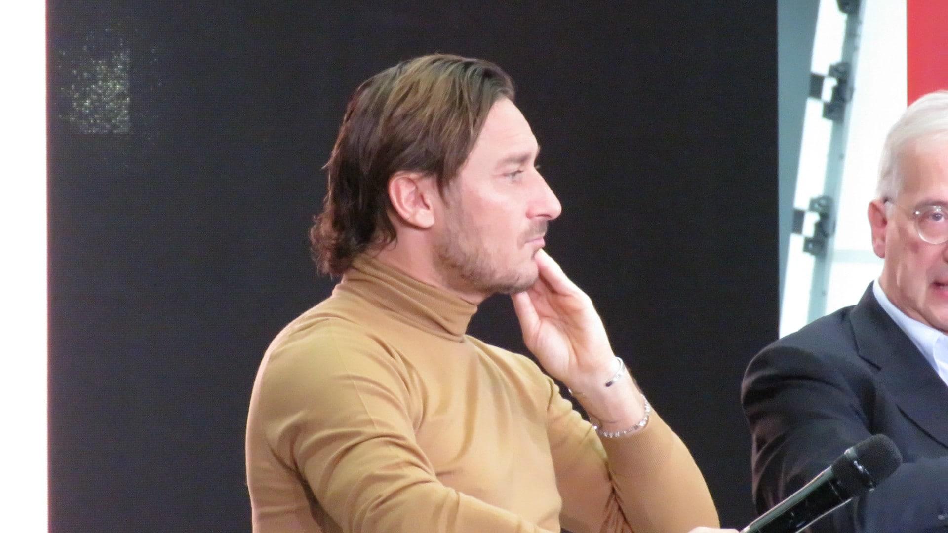 """Totti: """"Io capro espiatorio nel mio ultimo anno da giocatore. Facevo parte della Roma"""""""
