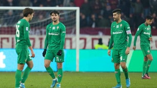 Fiorentina sempre più in crisi: Montella ko anche contro il Torino