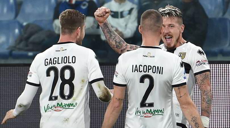 Sampdoria-Parma 0-1: Kucka punisce Ranieri
