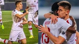 Piatek ritrova il gol, il Milan vince 3-2 a Bologna