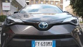 Nuovo Toyota C-HR Hybrid: il Test di Roma