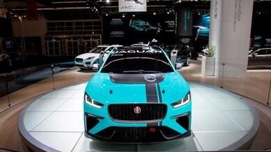 Jaguar I-PACE eTROPHY - le immagini