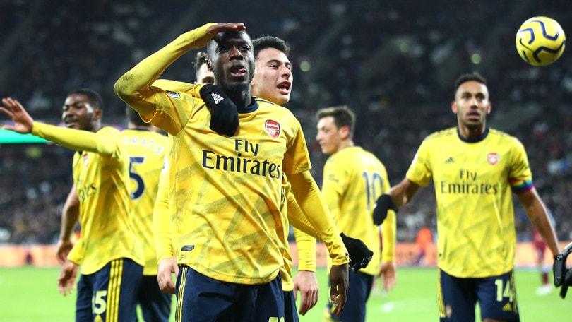 West Ham-Arsenal 1-3, prima vittoria per Ljungberg