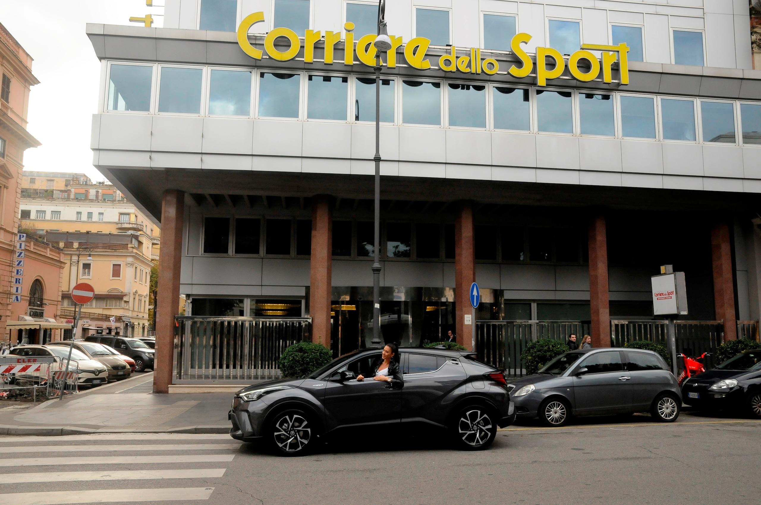 Toyota C-HR Hybrid al Test Drive Experiences di Roma