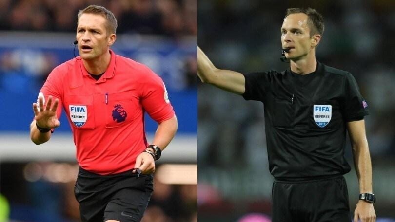Europa League: Pawson arbitrerà Roma-Wolfsberger, Jovanovic Rennes-Lazio