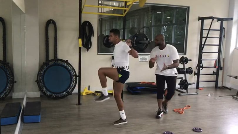 Dieta e allenamenti: Bruno Peres si allena per tornare alla Roma