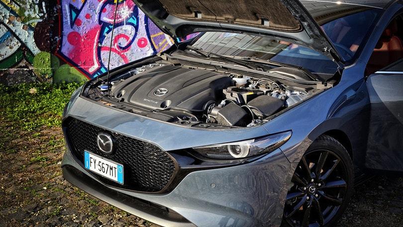 Mazda Skyactiv-X ed elettrificazione, l'accoppiata vincente