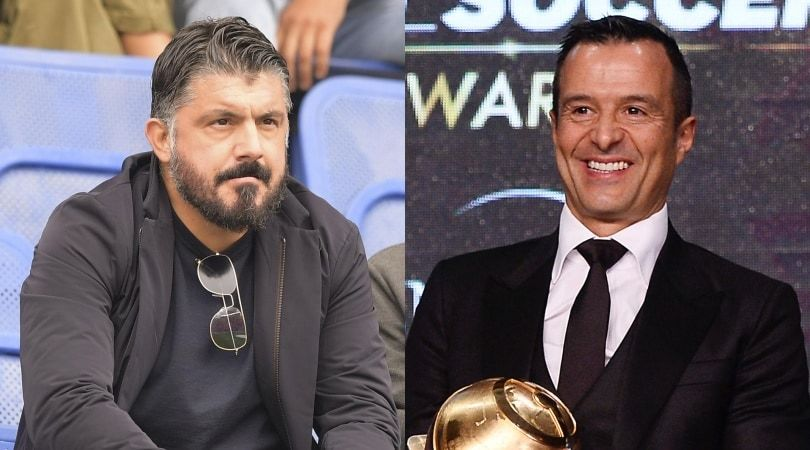 Gattuso al Napoli e il retroscena su Jorge Mendes