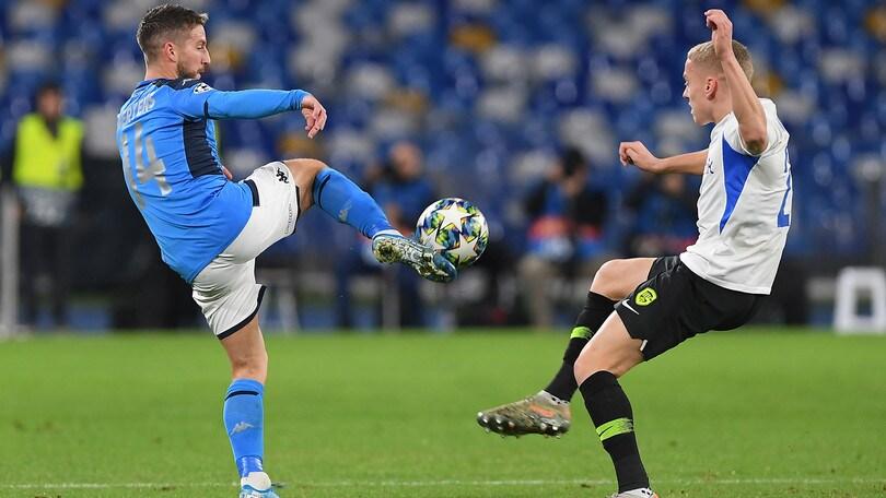 Napoli-Genk 4-0, il tabellino