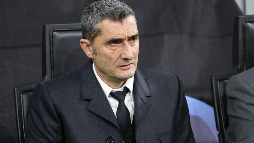 """Barcellona, Valverde: """"Inter? Nel secondo tempo troppo nervosa"""""""