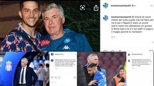 Da Insigne a Manolas: la reazione dei calciatori del Napoli dopo l'esonero di Ancelotti