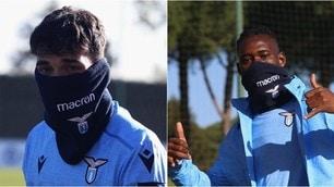 Lazio, Cataldi e Bastos in versione mascherata: obiettivo, i sedicesimi di Europa League