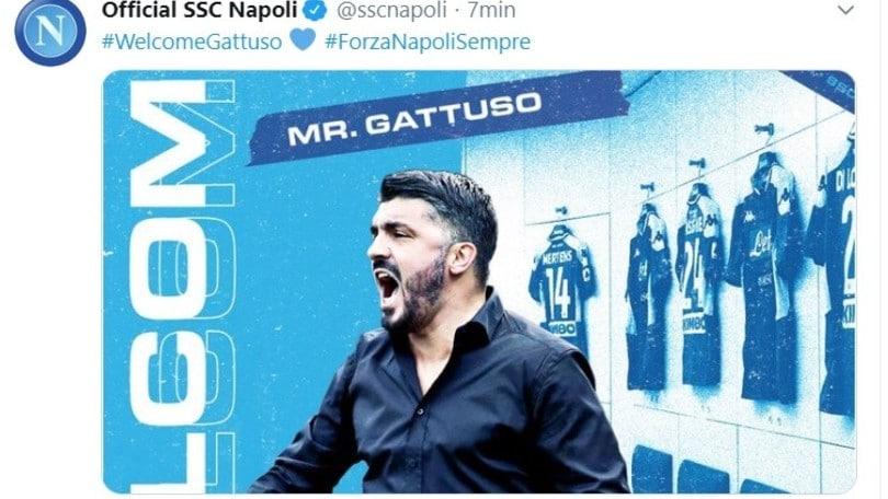 Gattuso al Napoli: rivivi la giornata in diretta