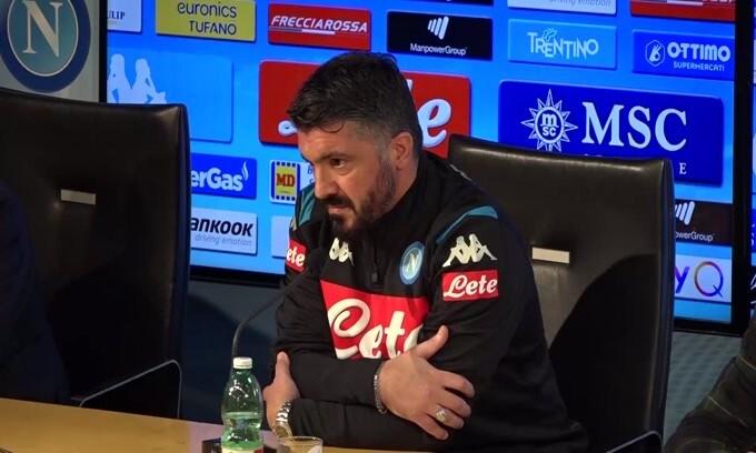 """Gattuso: """"Napoli settimo è imbarazzante"""""""