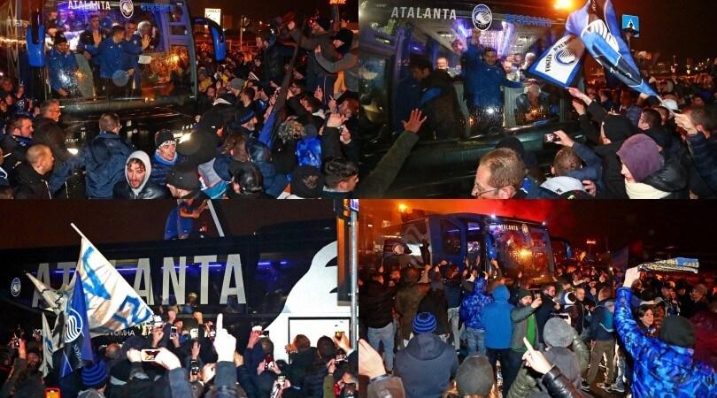 Atalanta, festa Champions: migliaia di tifosi a Orio!