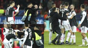 Bayer-Juve, Ronaldo e l'invasore