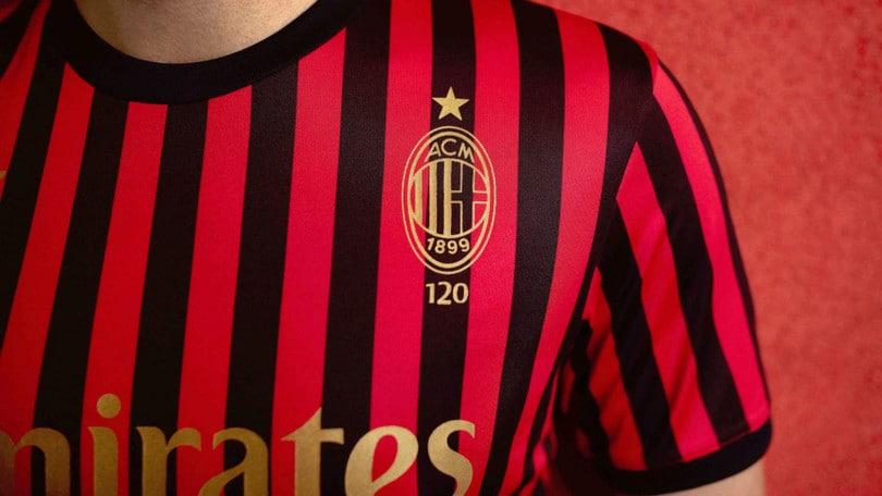 Il Milan compie 120 anni. La maglia Puma e le collezioni speciali per celebrare l'evento