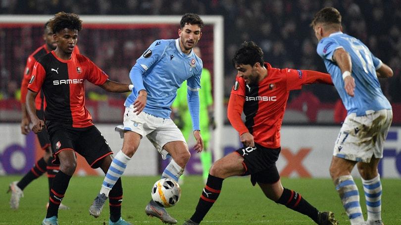 Rennes-Lazio 2-0, il tabellino