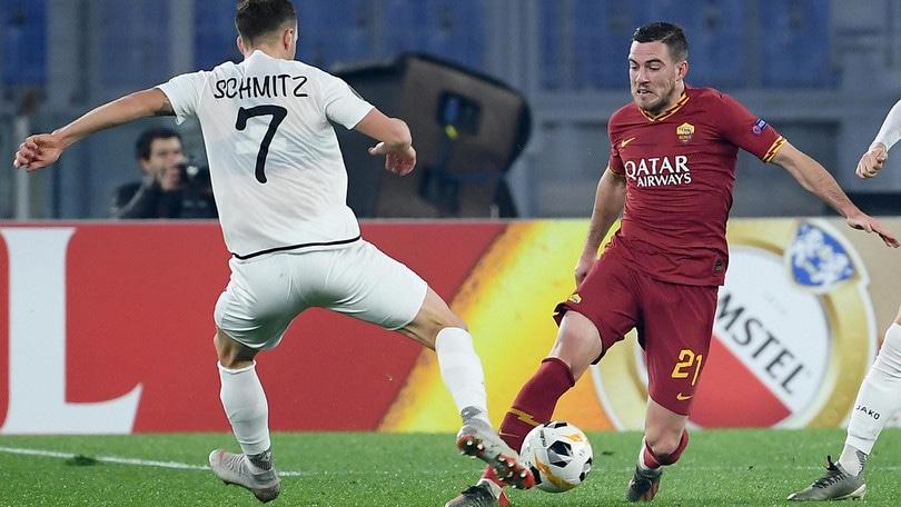 Roma-Wolfsberger 2-2, il tabellino