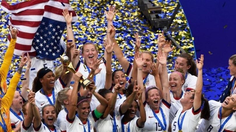 Fifa, ranking donne: Usa in testa, Italia 14ª