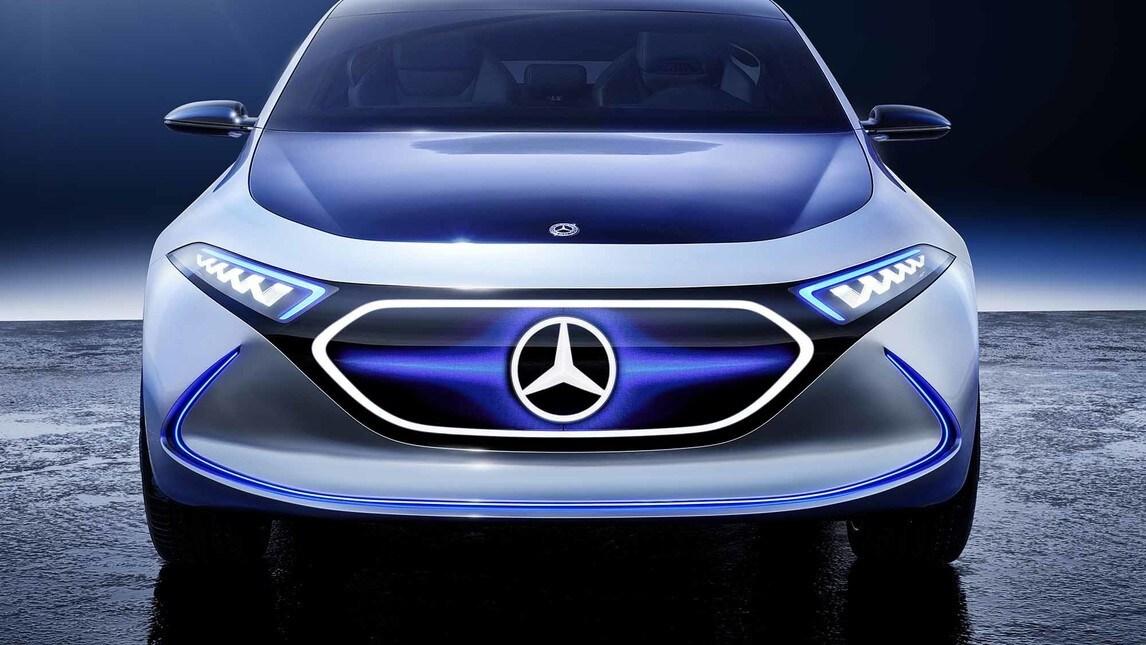 Mercedes EQA Concept: le immagini