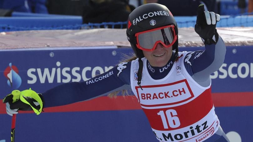 Coppa del Mondo, Goggia vince e Brignone seconda nel superG a St. Moritz