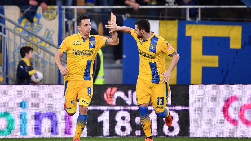 Il Frosinone vince ed è secondo, l'Ascoli piega il Cittadella. L'Empoli si ferma a Chiavari
