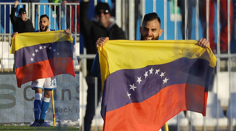 Brescia, primo gol in Serie A per Chancellor e spunta la bandiera del Venezuela