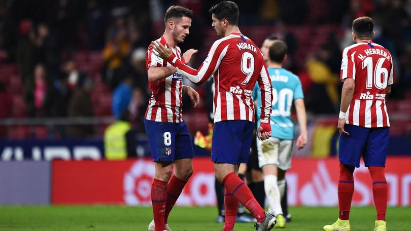 Liga, torna a sorridere l'Atletico Madrid. Vince anche il Levante