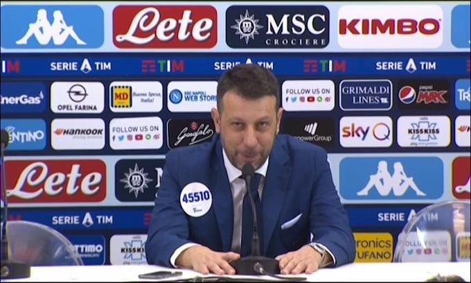 "D'Aversa: ""Kulusevski? Meglio se resta a Parma"""