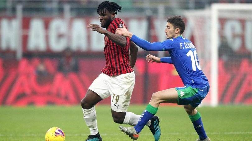 Milan-Sassuolo 0-0, il tabellino