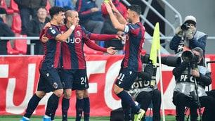 Palacio show, Atalanta ko 2-1: festa Bologna con Mihajlovic