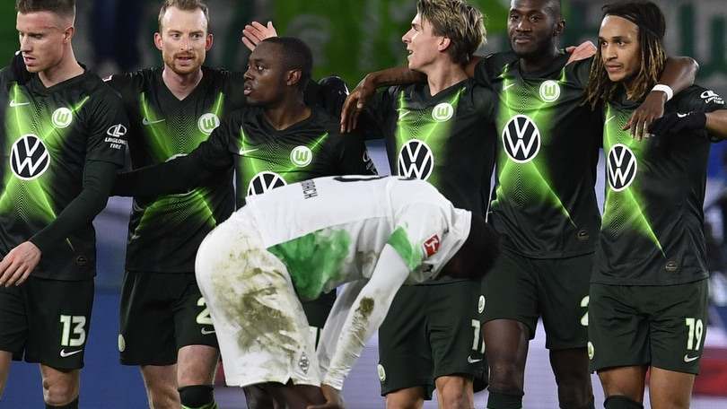 Il Wolsfburg ferma il Borussia M., lo Schalke passa sull'Eintracht