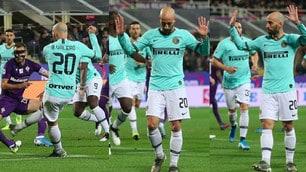 Inter, Borja Valero segna e chiede scusa: gol dell'ex alla Fiorentina