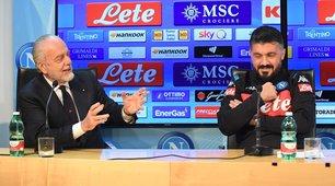 """De Laurentiis: """"Ibra? Ho altre priorità. Mertens all'Inter? No"""""""