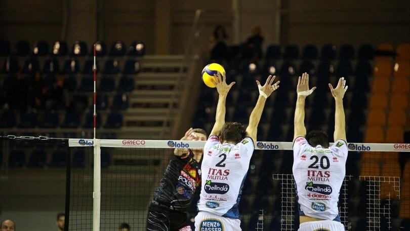 Superlega, Perugia batte Modena, Civitanova e Trento corsare