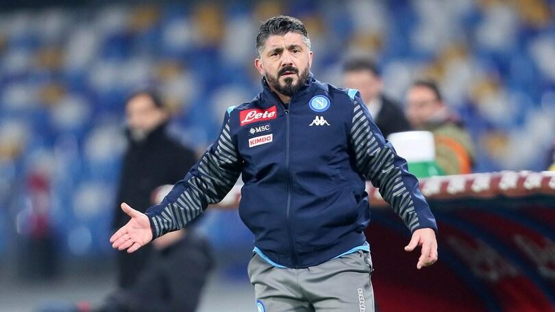 """Gattuso: """"Napoli senza paura con il Barcellona"""""""
