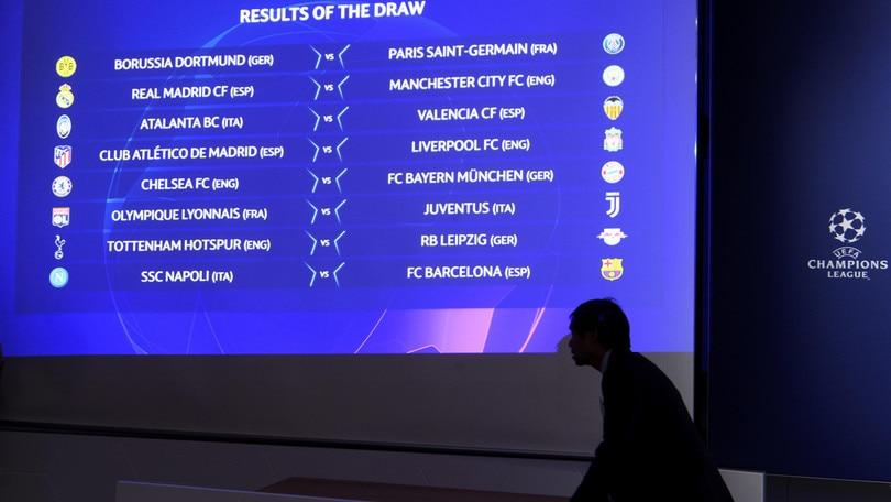 Champions League, tutte le date degli ottavi di finale