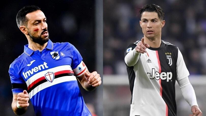 Diretta Sampdoria Juve Ore 18 55 Come Vederla In Tv E Formazioni Ufficiali Corriere Dello Sport