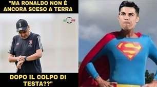 Juve, Ronaldo come Superman: il salto visto dal web