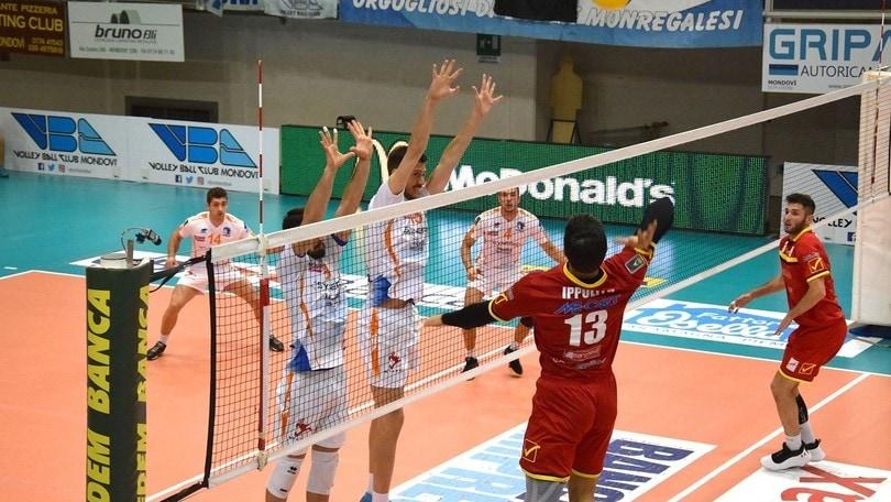 Reggio vince al tie break a Mondovì