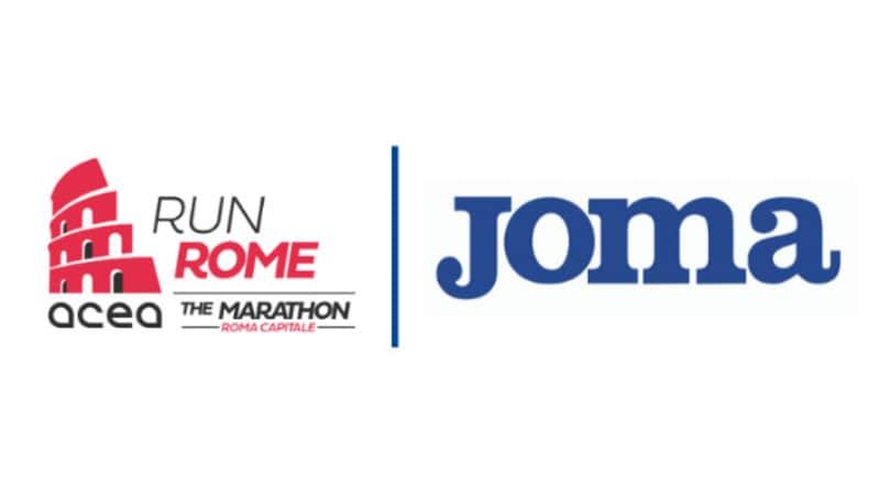 Joma sponsor tecnico della Acea Run Rome The Marathon