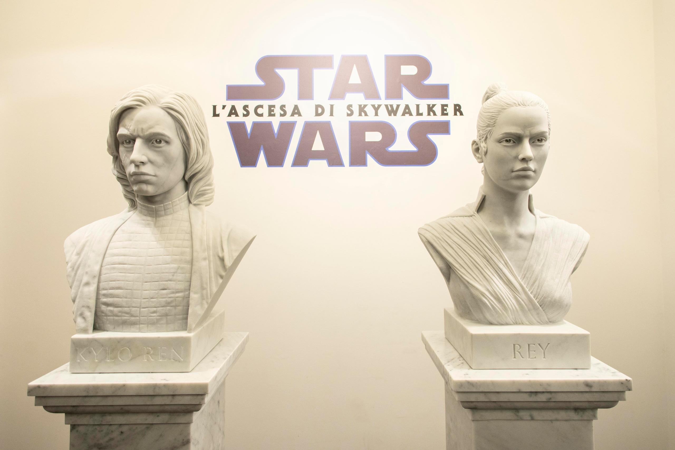 Gli eroi di Star Wars scolpiti nella memoria