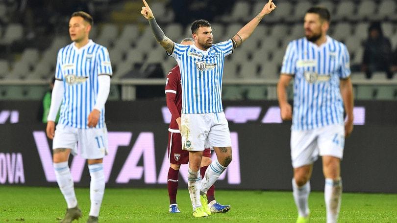 Torino-Spal 1-2: Strefezza e Petagna rimontano Rincon