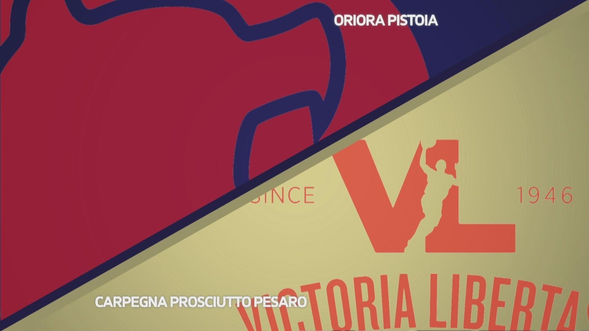 OriOra Pistoia - Carpegna Prosciutto Basket Pesaro 91-79