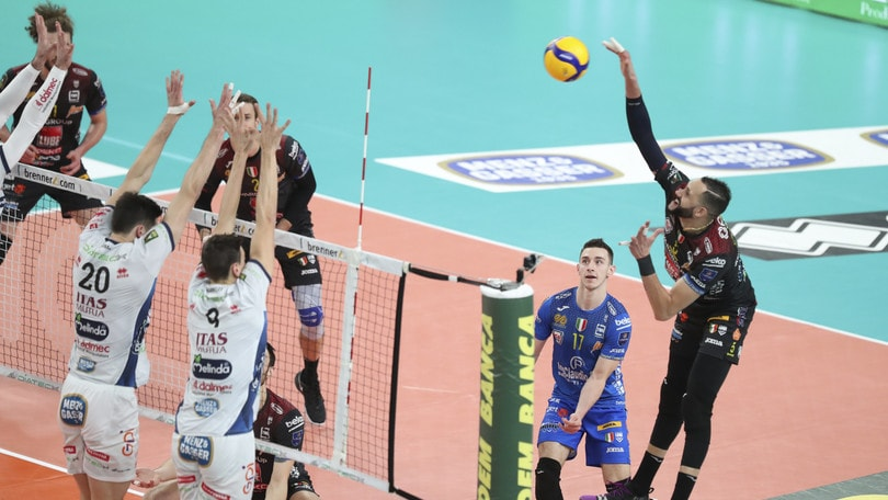 Superlega, chiusa l'andata Monza in Coppa, Civitanova vola