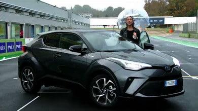 Nuovo Toyota C-HR Hybrid: il Test di Vallelunga